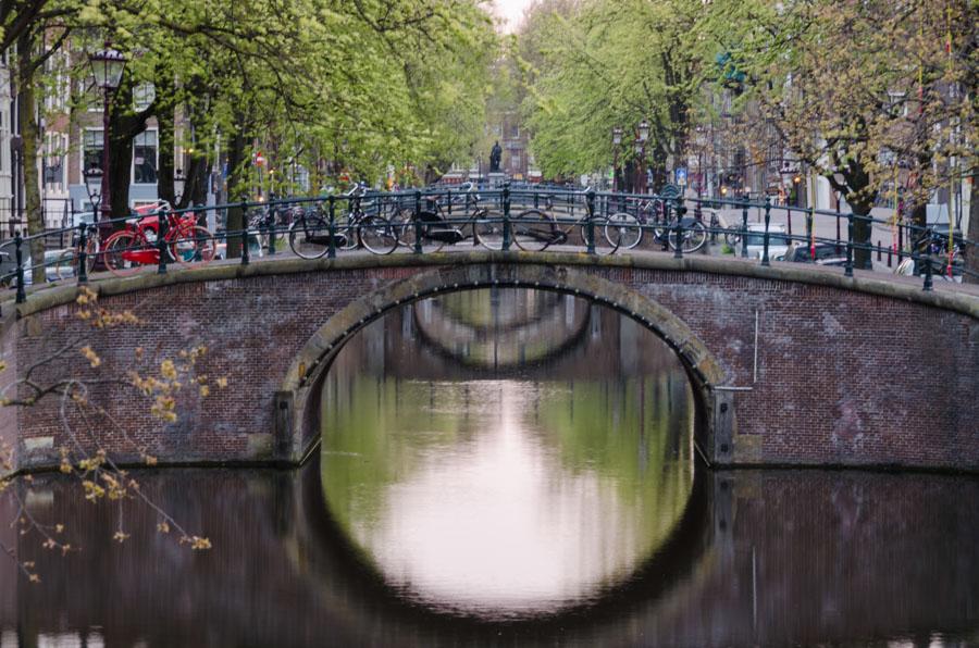 Morning on Reguliersgracht, Amsterdam, Netherlands