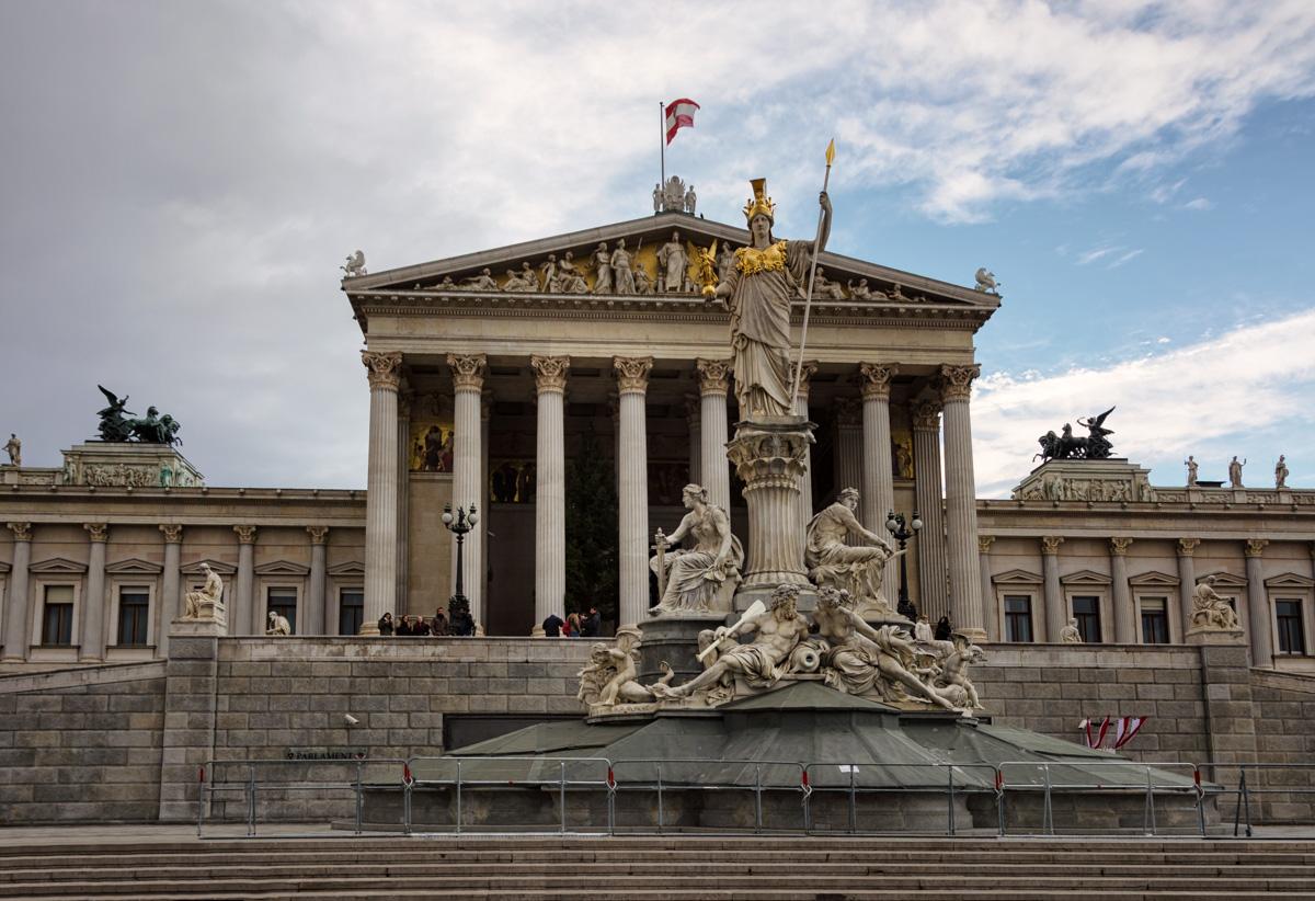 Parliament, Vienna