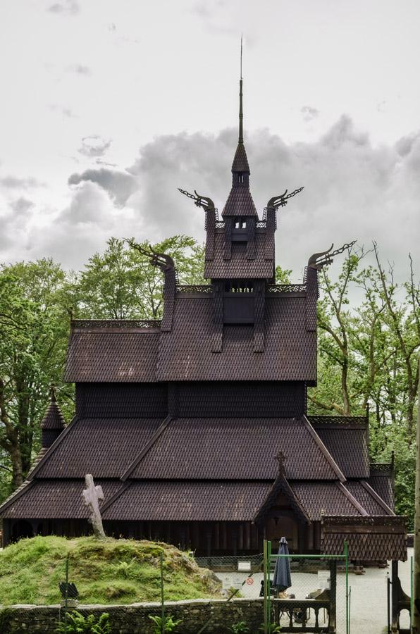 Fantoft Stave Church, Bergen, Norway