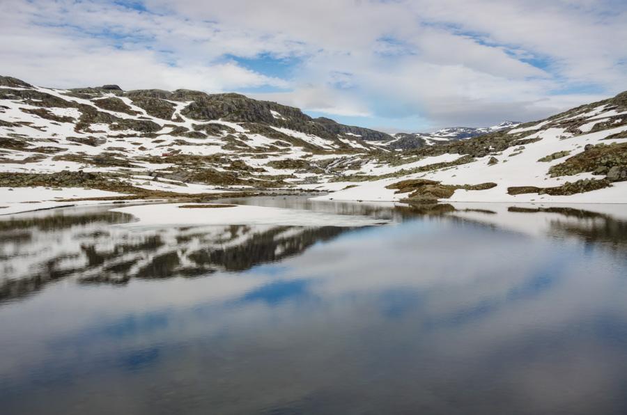 Along Bergen Railway, Norway