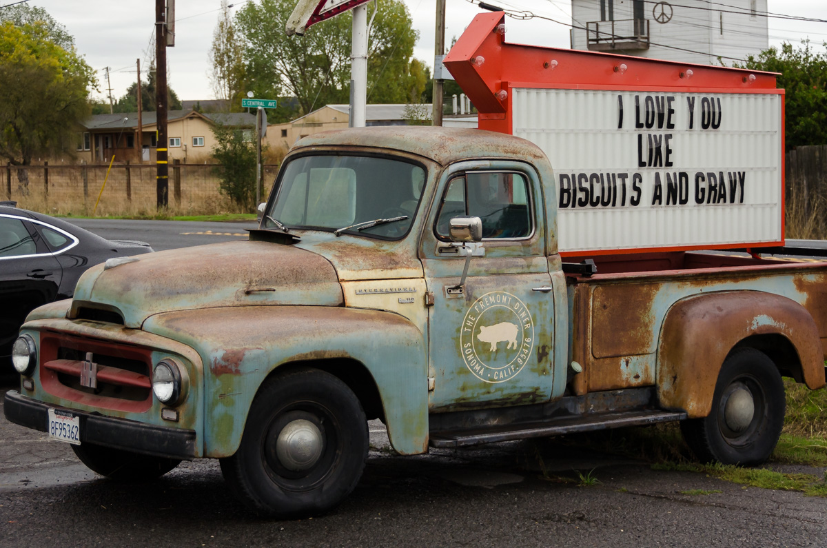 Fremont Diner, Sonoma Valley, California