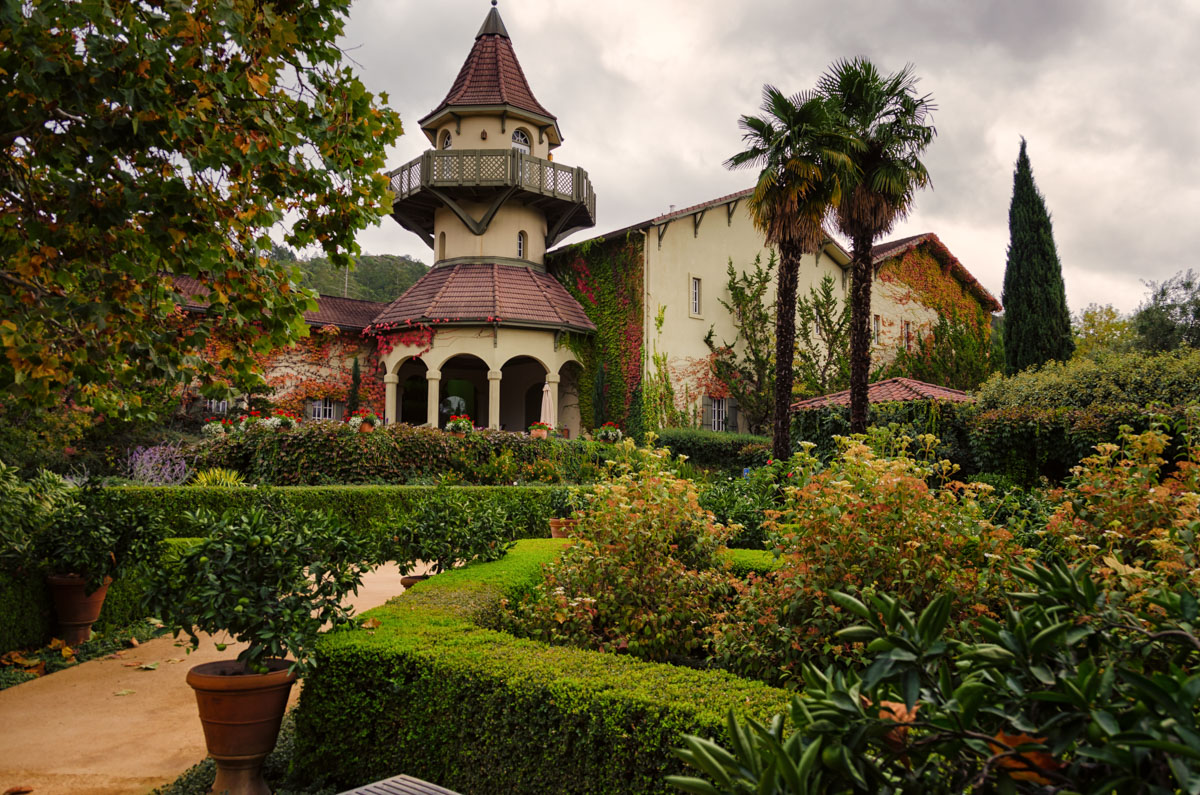 Chateau St-Jean, Sonoma Valley, California