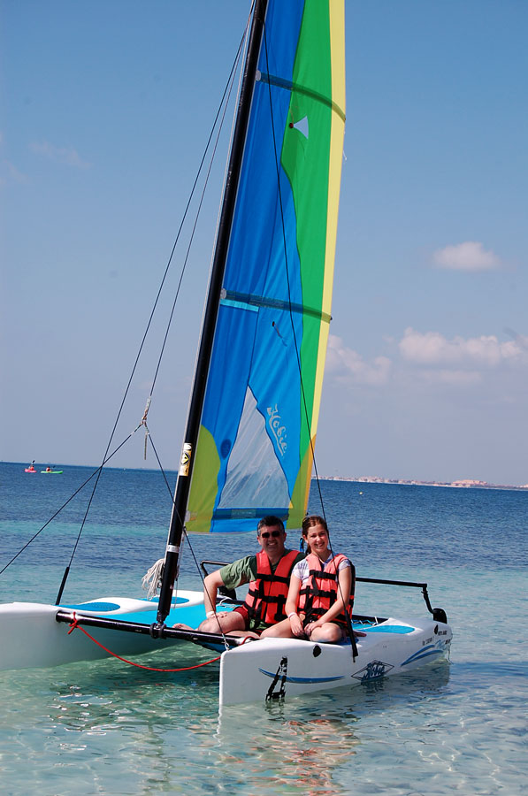 Sailing, Cancun