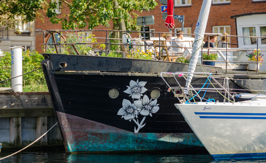 Boats on Christianshavn Canal, Copenhagen