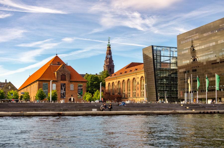 Harborside in Copenhagen