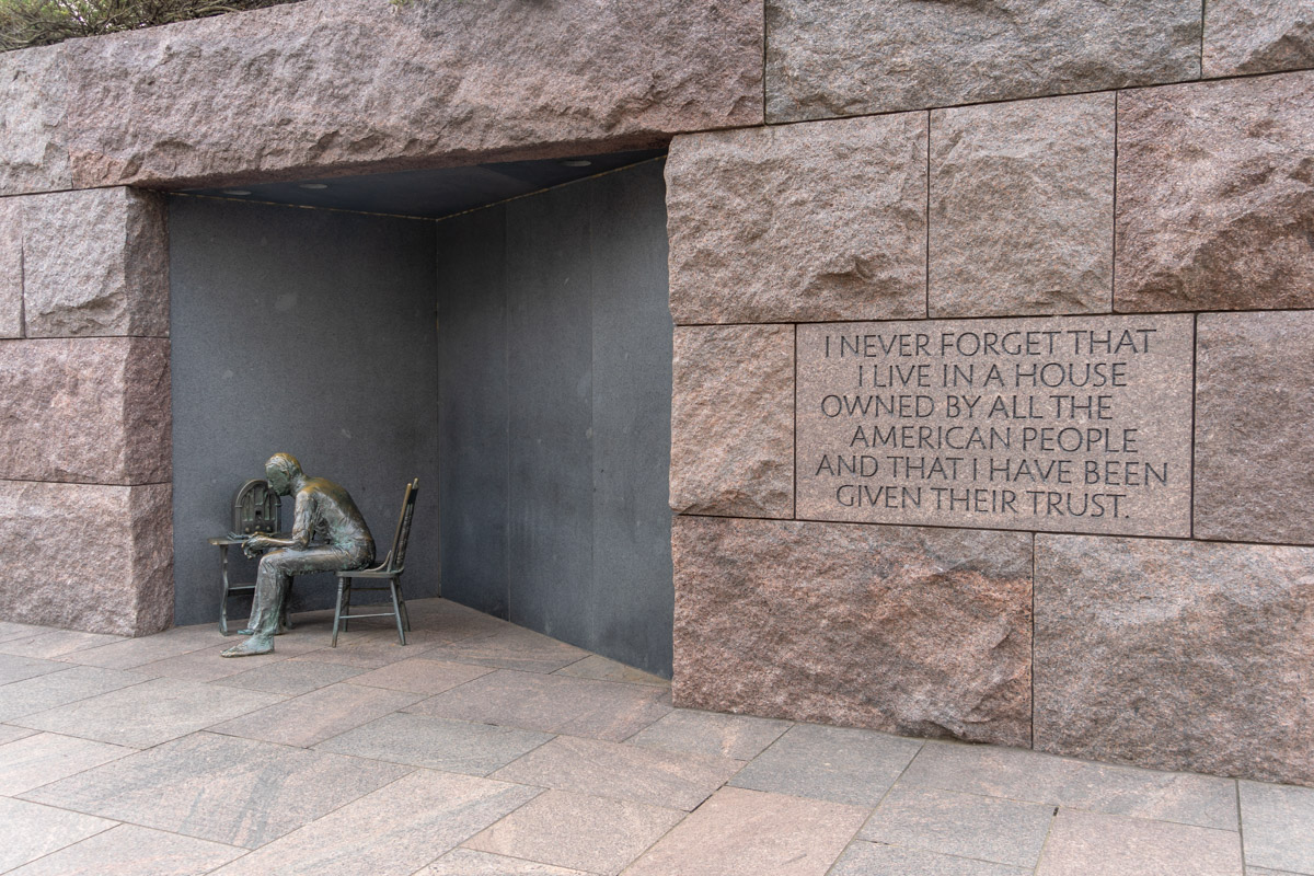 Franklin D. Roosevelt Memorial, Washington, DC