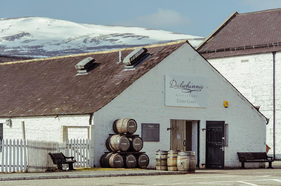 Dalwhinnie Distillery, Scotland