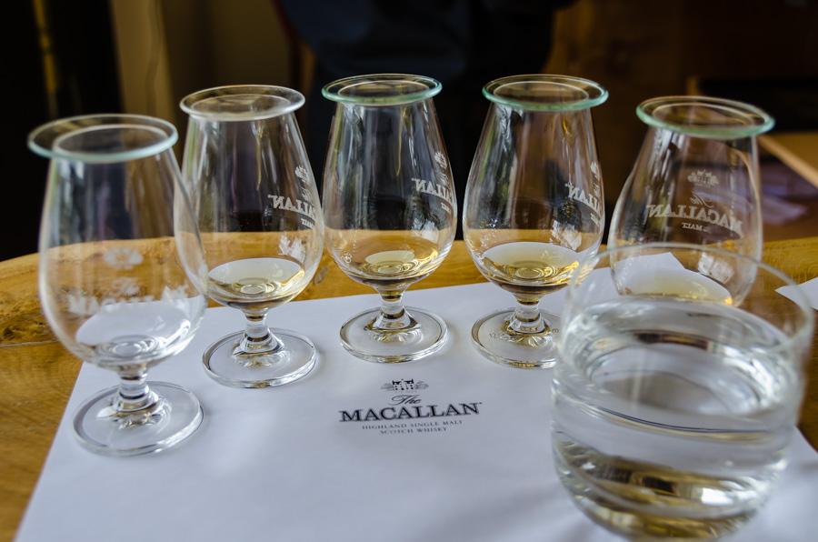 At Macallan Distillery, Scotland