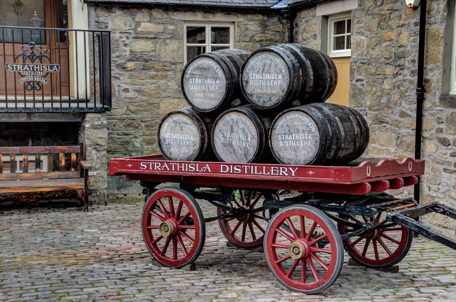 Strathisla Distillery, Scotland