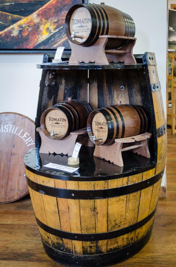 Tomatin Distillery, Scotland