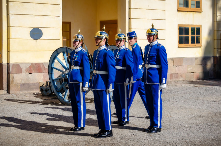 Royal Guards at Drottningholm Palace, Stockholm
