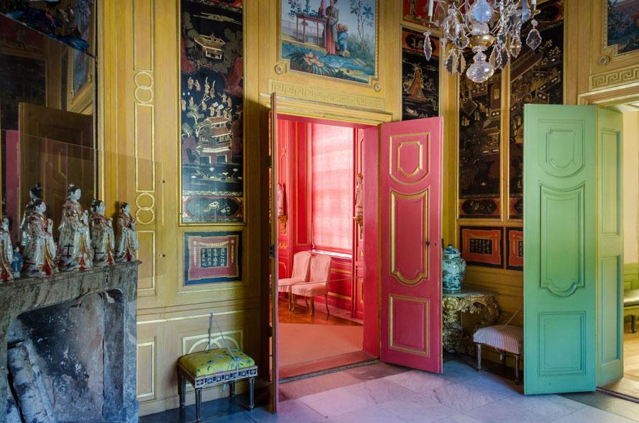 Inside Chinese Pavilion, Drottningholm Palace, Stockholm
