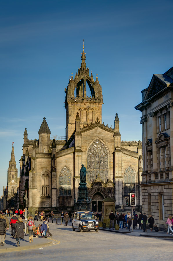 St Giles Cathedral, Edinburgh, Scotland