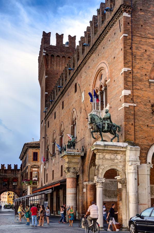 Palazzo Comunale, Ferrara, Italy