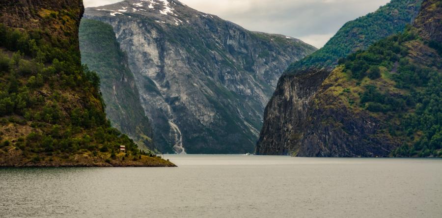 Cruising on Aurlandsfjord, Norway