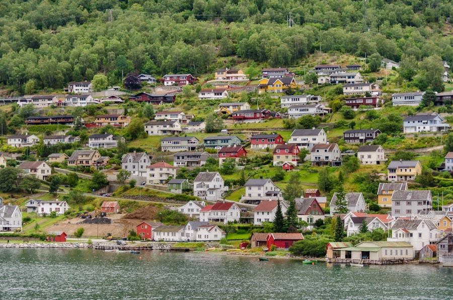 Along Aurlandsfjord, Norway