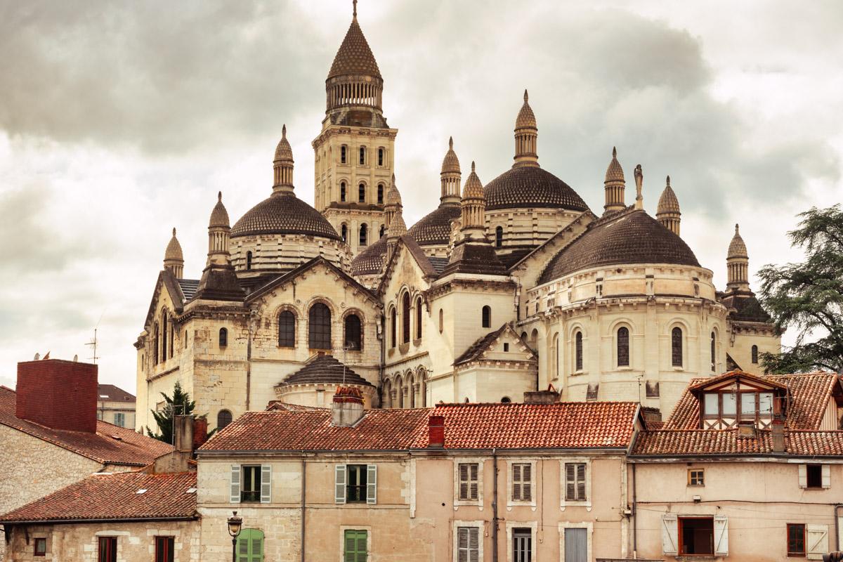 St-Front Cathedral, Périgueux, Dordogne, France