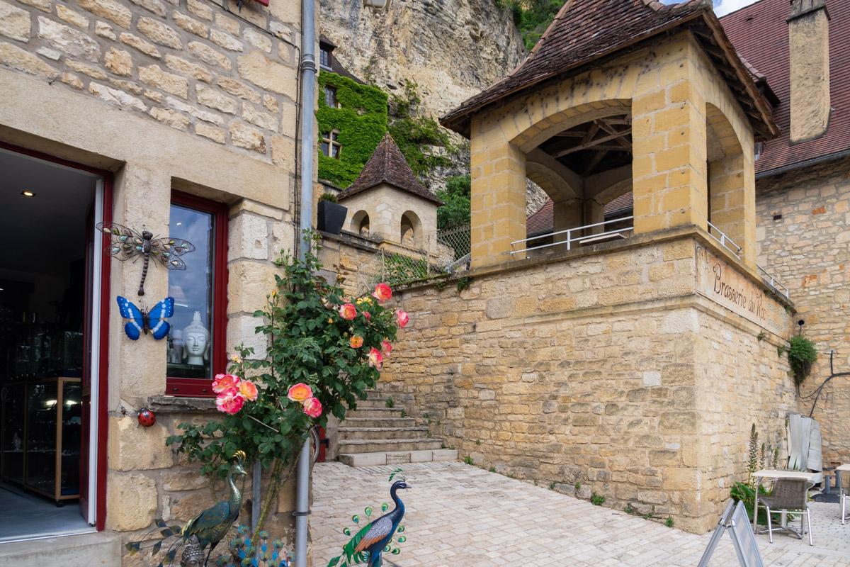La Roque-Gageac, Dordogne, France