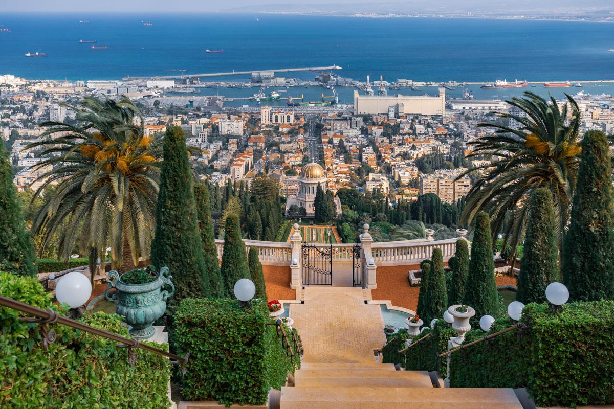 Baha'i Gardens, Haifa, Israel