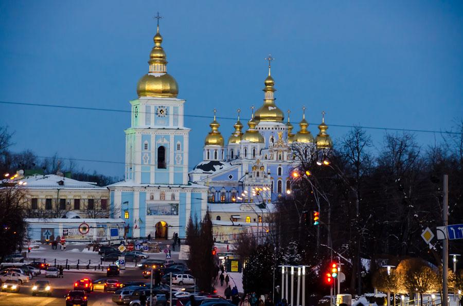 St-Michael Golden-Domed Monastery, Kiev