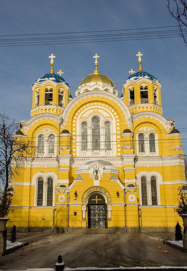 St-Volodymyr Cathedral, Kiev