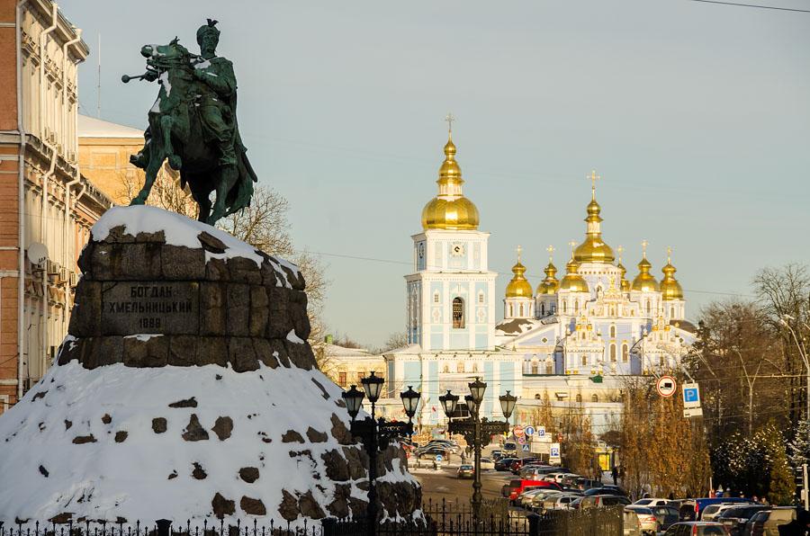 View from Sophia Square, Kiev