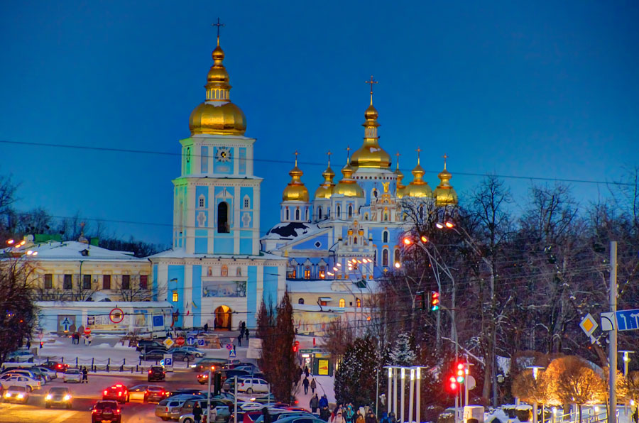 St Michael Golden-Domed Monastery, Kiev
