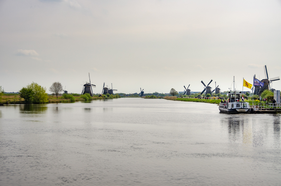 Windmills of Kinderdijk, Netherlands