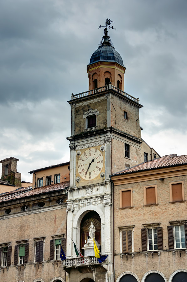 Palazzo Communali Clocktower, Modena, Italy
