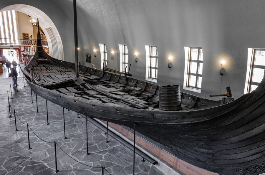 In Viking Ship museum, Oslo