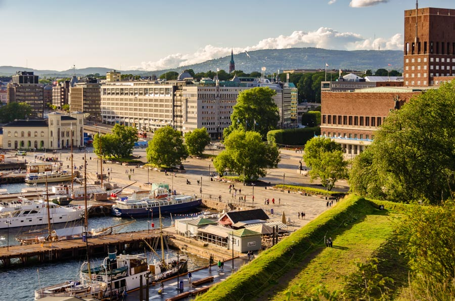 View from Akershus Castle, Oslo