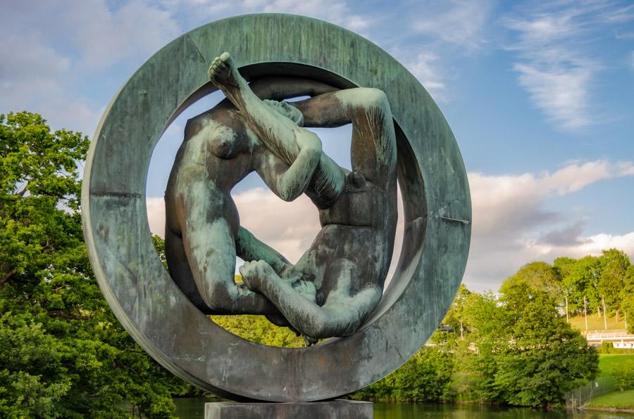 Vigeland sculptures in Frogner Park, Oslo