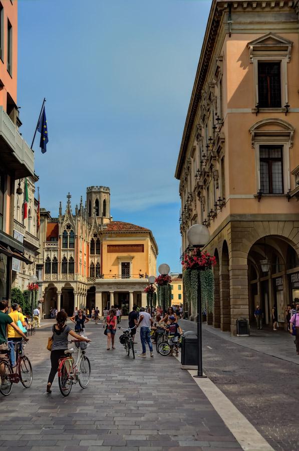 Near the University, Via VIII Febbraio, Padua, Italy