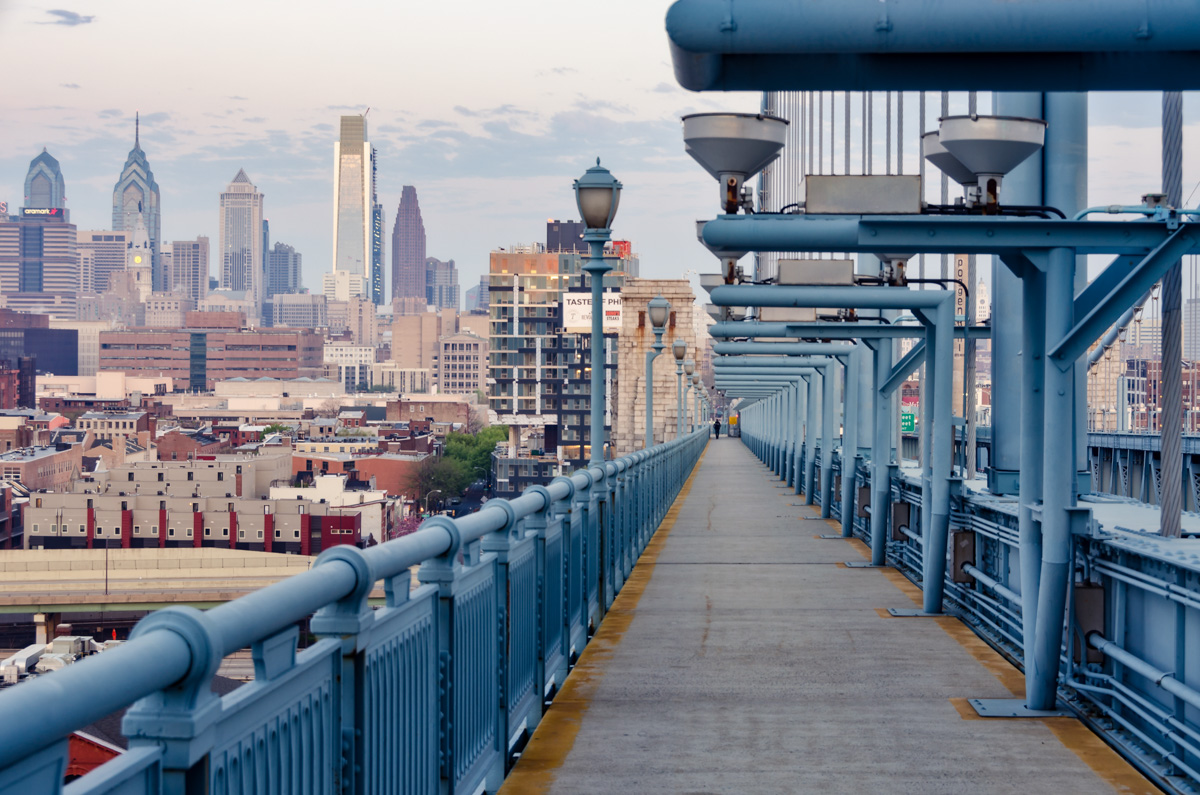 Benjamin Franklin Bridge, Philadelphia, PA