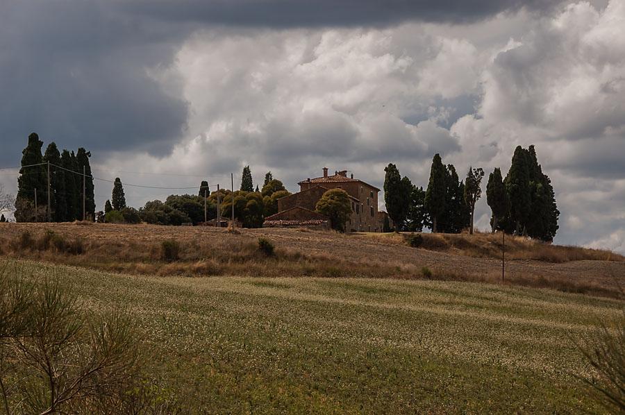 Val dOrcia landscape
