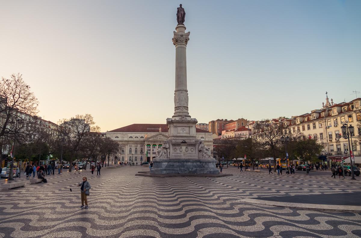 Praça Dom Pedro IV, Lisbon