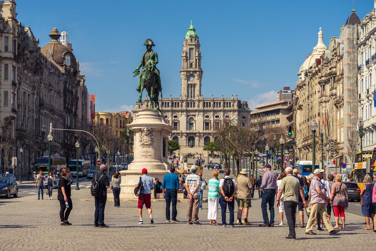 Praça da Liberdade, Porto