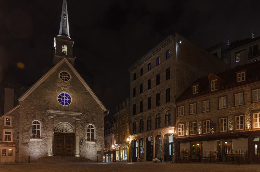 Notre-Dame-des-Victoires on Place Royal, Quebec City