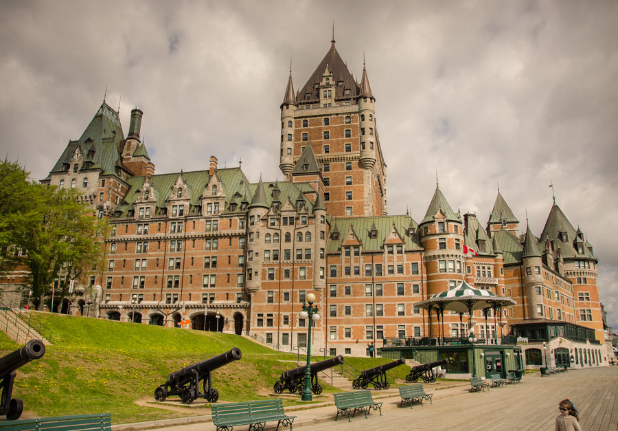 Terrace Dufferin and Chateau Frontenac, Quebec City