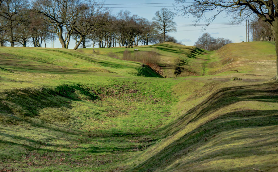 Antonine Wall at Rough Castle, Scotland