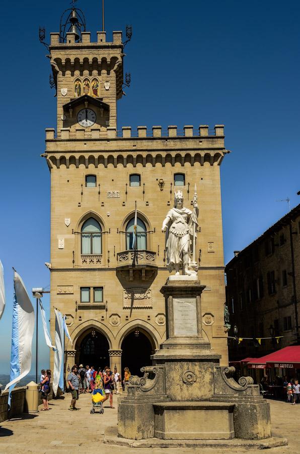 Piazza Liberta, San Marino