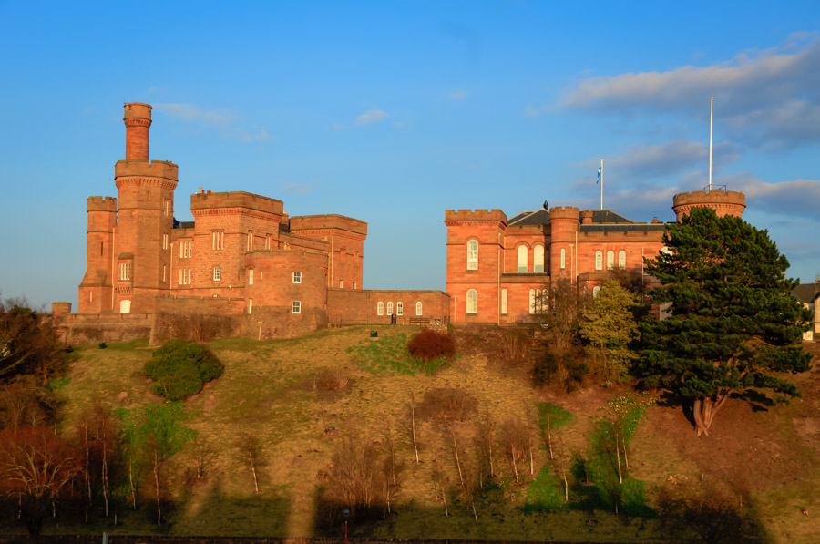 Inverness Castle, Scotland