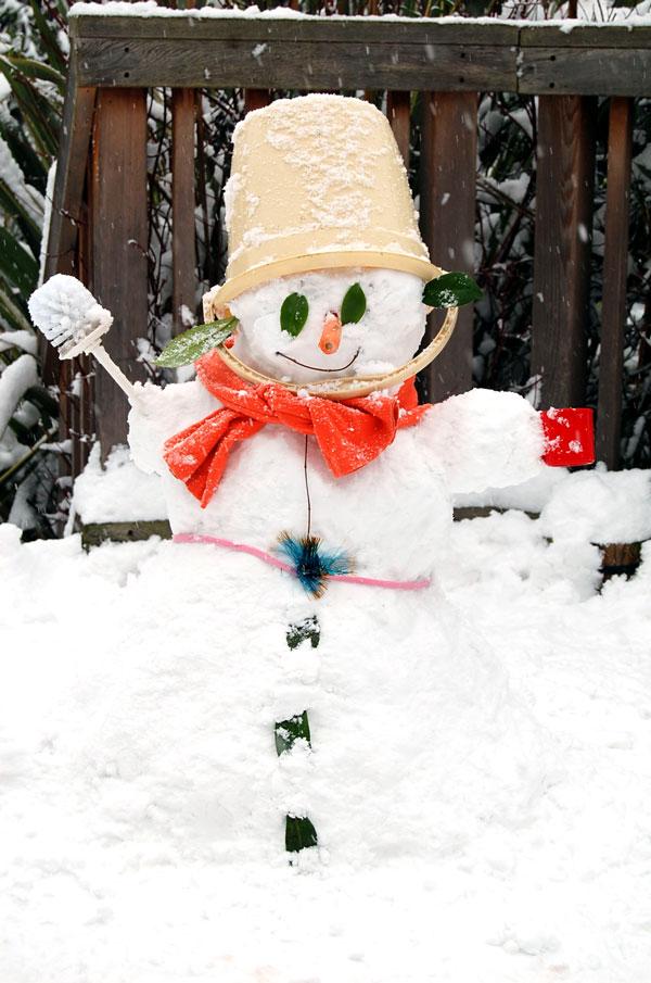 Masha the Snow-woman