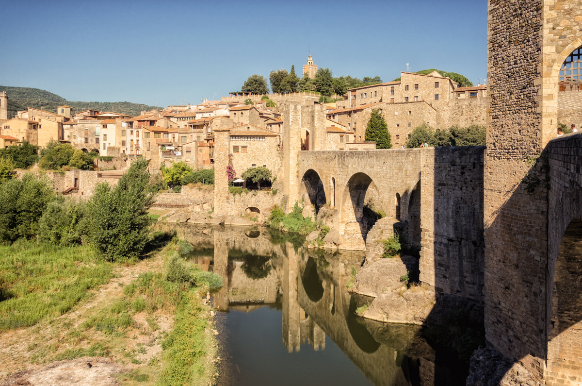 Besalú, Catalonia, Spain