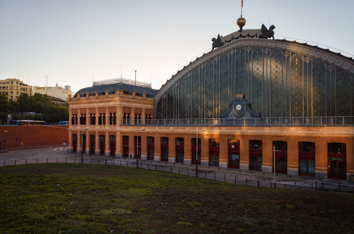 Estación de Madrid Atocha
