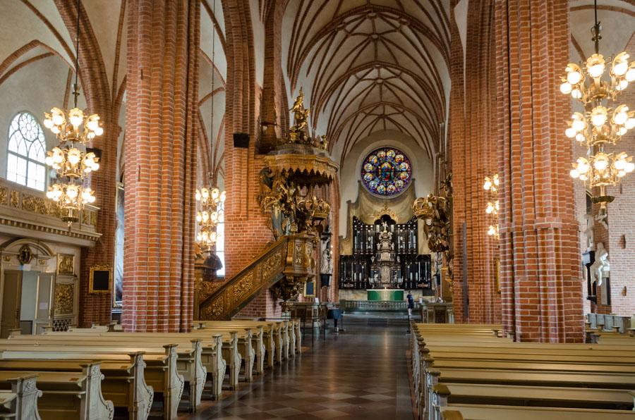 Inside Storkyrkan, Stockholm