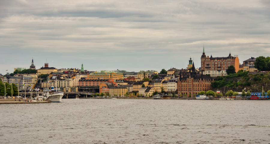 View to Sodermalm from City Hall, Stockholm