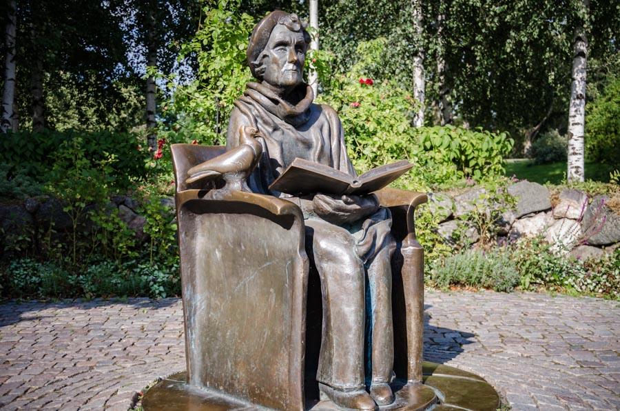 Astrid Lindgren statue, Stockholm
