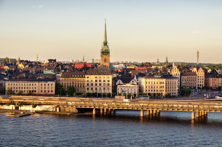 View from Monteliusvagen, Stockholm