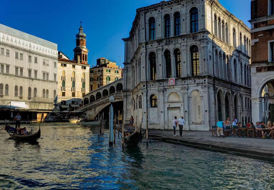 Grand Canal near Rialto Bridge, Venice